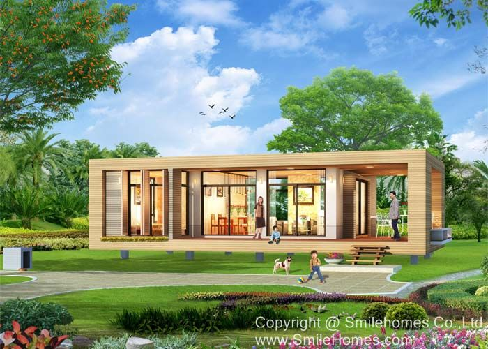 House plans and design small house plans with flat roof for Small house design thailand