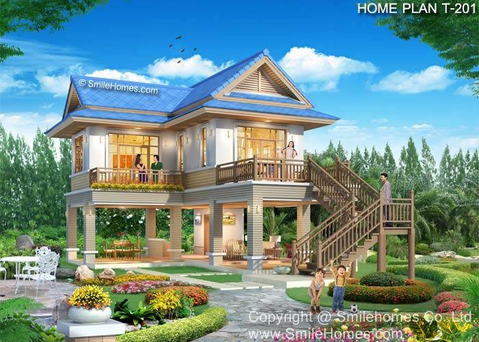 แบบแปลนบ้านนี้เป็นทรัพย์สิน และลิขสิทธิ์ของ บริษัท สไมล์โฮม จำกัด ห้ามนำไปใช้ โดยไม่ได้รับอนุญาต : www.smilehomes.com